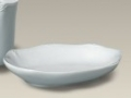 Porcelain 5.5 Scrolled Edge Soap Dish.jpg