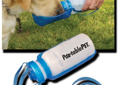 portable pet bottles