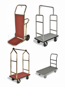 unlimited hotel supply bellman carts