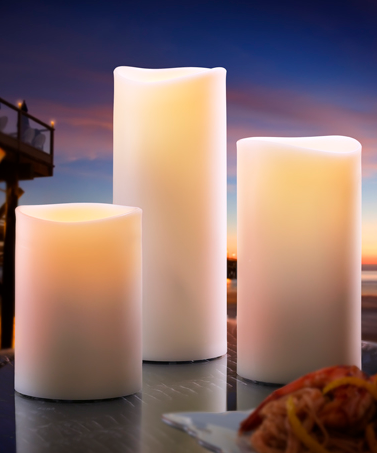 unlimited hotel supply pillar candles
